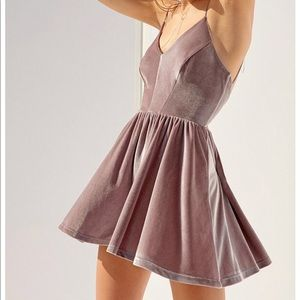 Strappy below back Urban Outfitters romper
